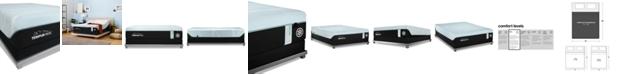 "Tempur-Pedic TEMPUR-PRObreeze° 12"" Medium Hybrid Mattress Set- California King"