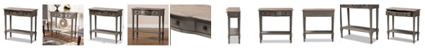 Furniture Noelle Console Table, Quick Ship