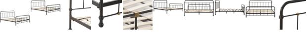 Elle Decor Renaud Metal Bed - King, Quick Ship