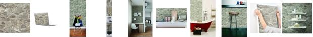 York Wallcoverings Weathered Stone Peel & Stick Wallpaper