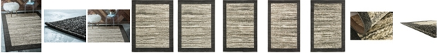Bridgeport Home Pashio Pas4 Black Area Rug Collection
