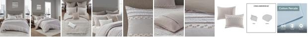 INK+IVY Lennon 3 Piece Comforter Set, Full/Queen