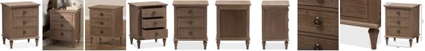 Furniture Venezia 3-Drawer Chest, Quick Ship
