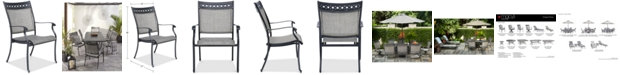 Furniture Vintage II Outdoor Sling Dining Chair, Created for Macy's
