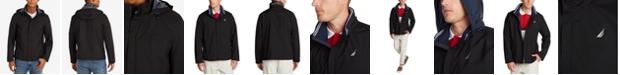 Nautica Men's Waterproof Packable Hooded Bomber Jacket