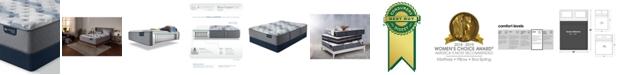 "Serta iComfort by Blue Fusion 200 13.5"" Hybrid Plush Mattress Set - Queen"