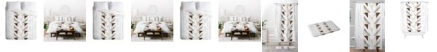 Deny Designs Iveta Abolina Geo Wood 4 King Duvet Set