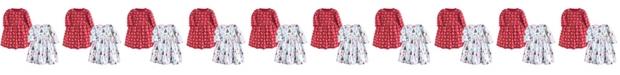 Hudson Baby Cotton Dress, 2-Pack, 0 Months-5T