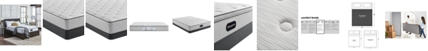"Beautyrest BR800 12"" Medium Firm Mattress Set - King"