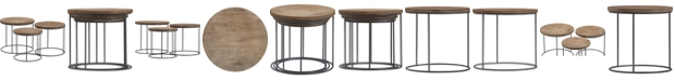 Tommy Hilfiger Berkshire 3pc Nesting Table Set