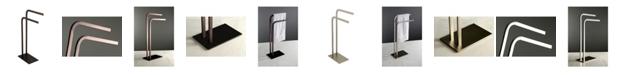 Kingston Brass Pedestal Dual Towel Rack