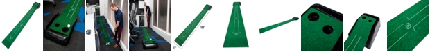 Franklin Sports Golf Putting Mat With Gravity Returner