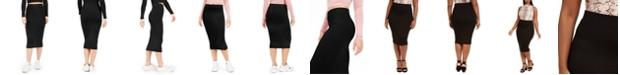 Bar III Bodycon Midi Skirt, Created for Macy's