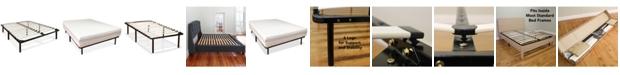 Sleep Trends Europa Wood Slat and Metal Platform Bed Frame- Full