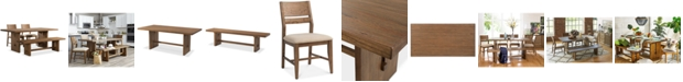 Furniture CLOSEOUT! Athena 4-Pc. Dining Set  (Dining Trestle Table, 2 Side Chairs & Bench)