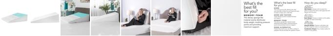SensorGel Luxury Pressure Relieving Gel Infused Memory Foam Bed Wedge