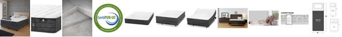 """Hotel Collection by Aireloom Coppertech 12"""" Firm Mattress- Twin XL, Created for Macy's"""