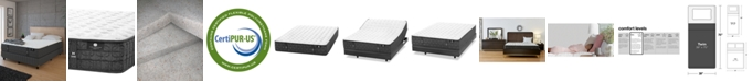 """Hotel Collection by Aireloom Coppertech 12"""" Firm Mattress- Twin, Created for Macy's"""