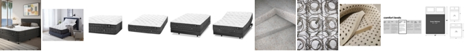 """Hotel Collection by Aireloom Holland Maid 13.5"""" Cushion Firm Mattress- Queen, Created for Macy's"""