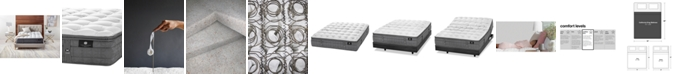 """Hotel Collection by Aireloom Handmade Plus 14.5"""" Cushion Firm Luxetop Mattress- California King, Created for Macy's"""