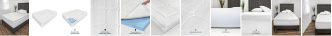 SensorPEDIC 3-Inch Euro Majestic Gel-Infused Memory Foam Mattress Topper - King
