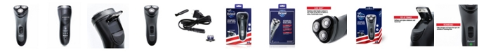 Barbasol 1100 Series Rechargeable Rotary Shaver