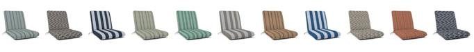 "Sunproof By Weatherproof Outdoor Club Chair Cushion, 44"" x 22"""