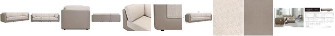 Furniture Mattley 3-Pc. Fabric Sofa, Created For Macy's