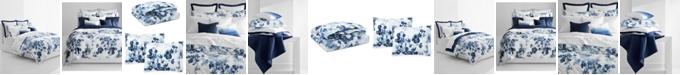 Lauren Ralph Lauren Flora Blue 3-Pc. Cotton Full/Queen Duvet Cover Set