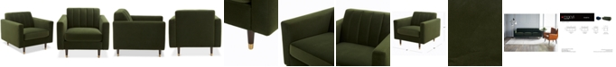 "Furniture CLOSEOUT! Penryn 35"" Fabric Chair"
