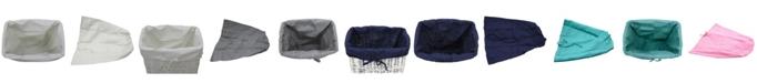 Redmon Since 1883 Redmon Rectangular Willow Hamper Cloth Liner