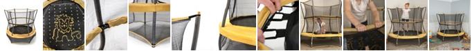 "Skywalker Trampolines Activplay 60"" Round Safari Explorer Mini Bouncer with Enclosure"