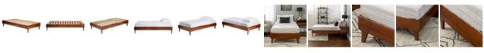 Walker Edison Solid Wood Platform Bed, Twin Size