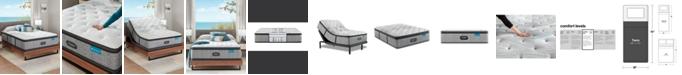 """Beautyrest Harmony Lux Carbon 15.75"""" Medium Firm Pillow Top Mattress - Twin"""