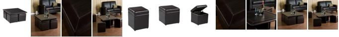 Southern Enterprises Pender Storage Cube Table Set