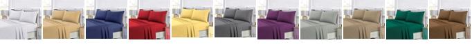 Tribeca Living Super Soft Solid DP Easy-Care Extra Deep Pocket Full Sheet Set