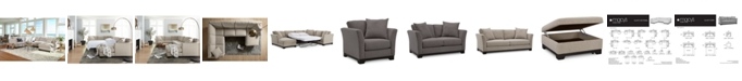 Furniture Elliot II Fabric Sectional and Sofa Collection, Created for Macy's