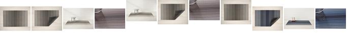 """Chilewich Block Stripe Shag Utility - 24"""" x 36"""""""