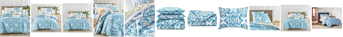 Charter Club Dolce Vita 300-Thread Count Medallion-Print Bedding Collection, Created for Macy's
