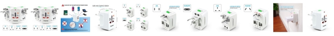 Insten World Wide Travel Charger Adapter Plug
