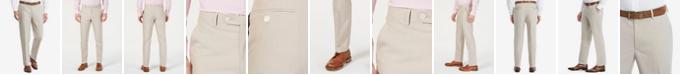 Tommy Hilfiger Men's Modern-Fit Flex Stretch Tan Suit Pants