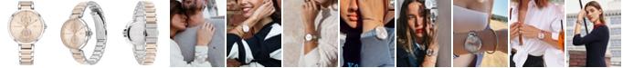 Tommy Hilfiger Women's Two-Tone Stainless Steel Bracelet Watch 36mm