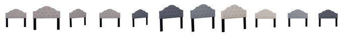 Us Pride Furniture Mindenmines Upholstered Panel Headboard