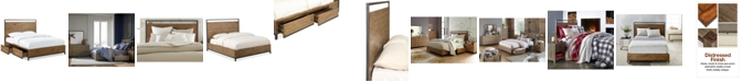 Furniture Gatlin Storage Queen Platform Bed, Created for Macy's