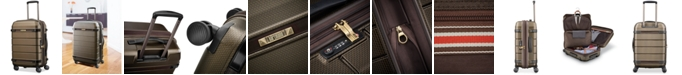 """Hartmann Century 21"""" Hardside Expandable Carry-On Spinner Suitcase"""