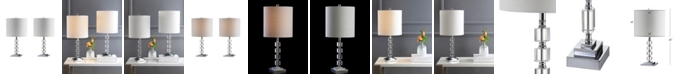 JONATHAN Y Barnard Led Crystal or Metal Table Lamp