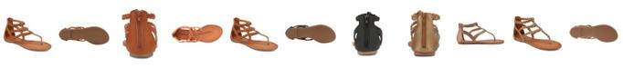 Olivia Miller Day Trippin Braided Strap Sandals