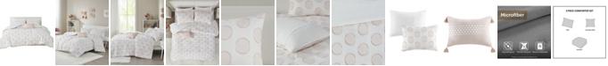 Intelligent Design Jennifer 3 Piece Twin/Twin XL Comforter Set