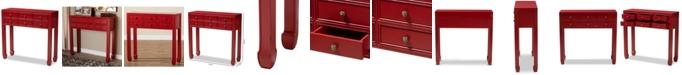 Furniture Myrlande 6-Drawer Console