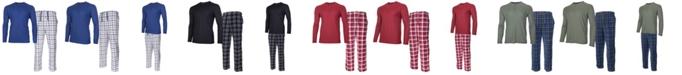 Isotoner Signature Men's Sleep Thermal Top Pant Set